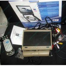 Автомобильный монитор с DVD-плейером и игрой AVIS AVS0916T бежевый (Балаково)